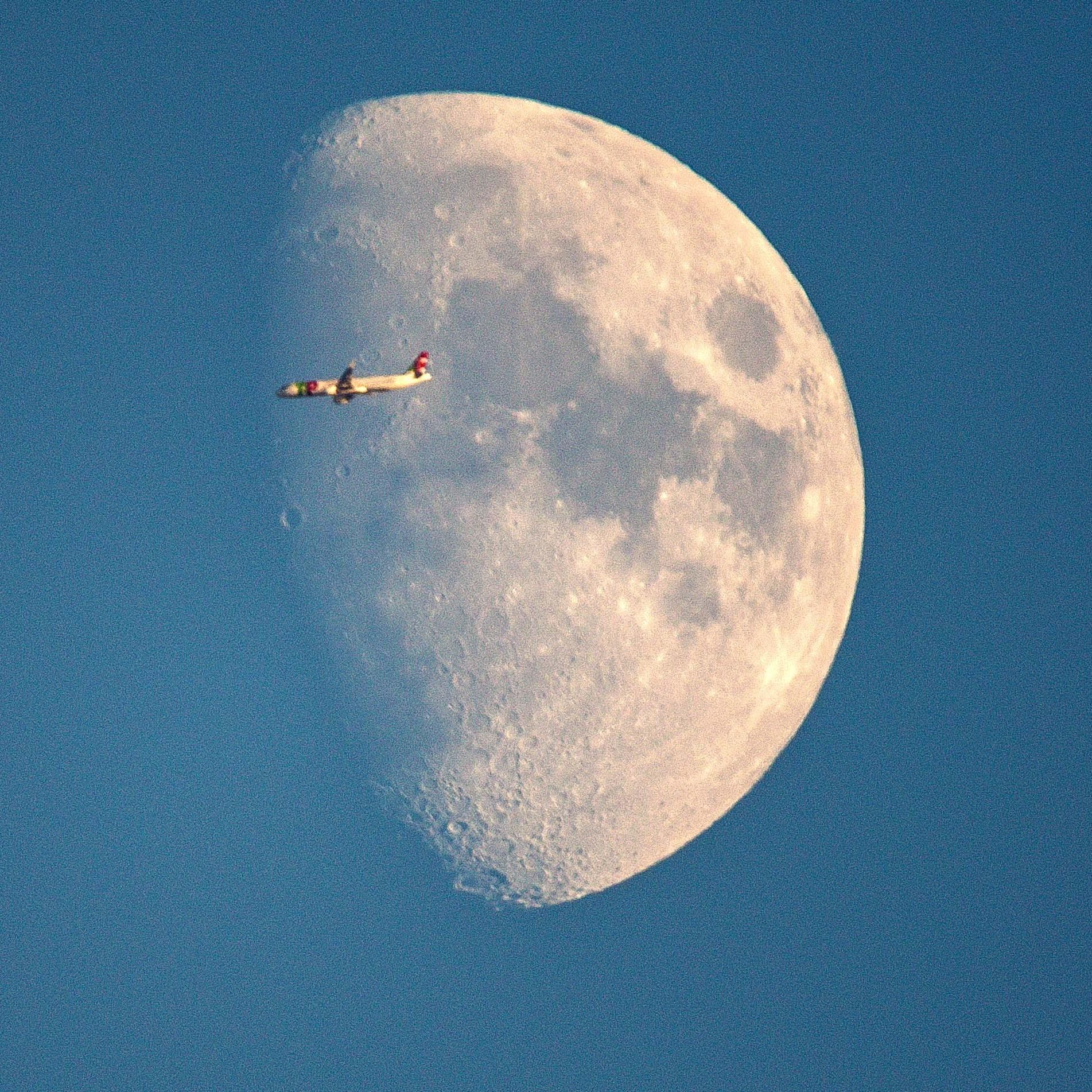 Nikon D800 Sigma Moon