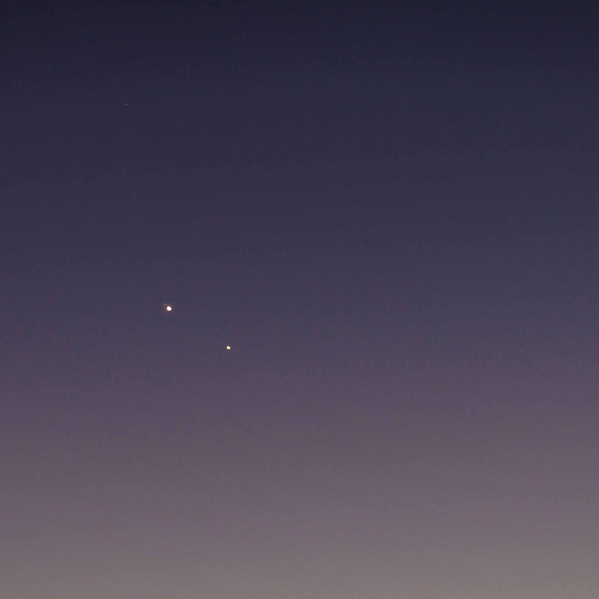 Jupiter and Saturn near Conjunction December 2020
