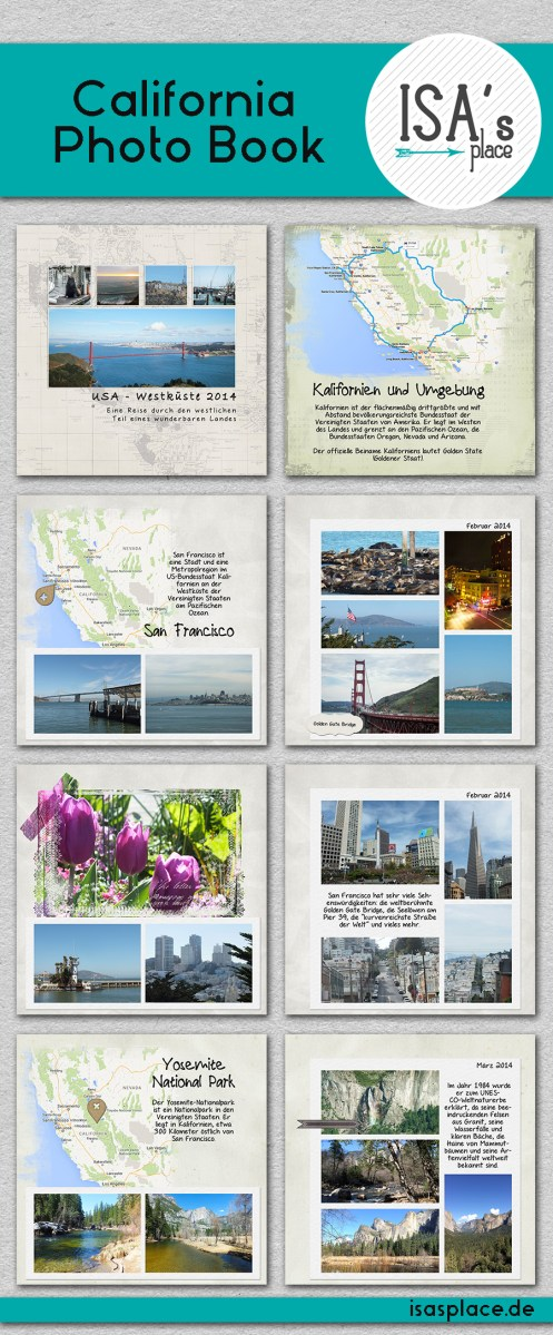 California Photo Book (Freebie Inside)