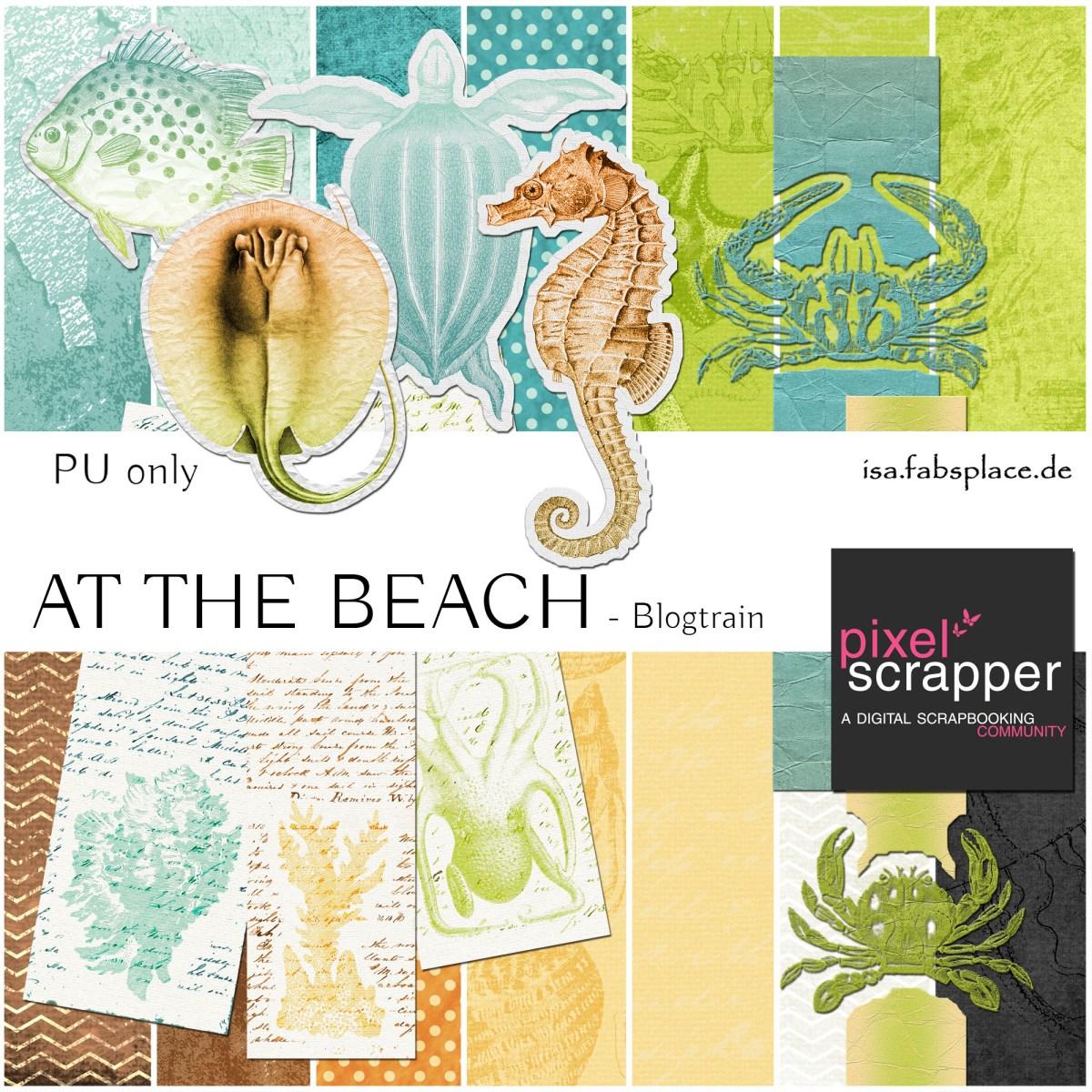 """August Blog Train: """"At the beach"""""""