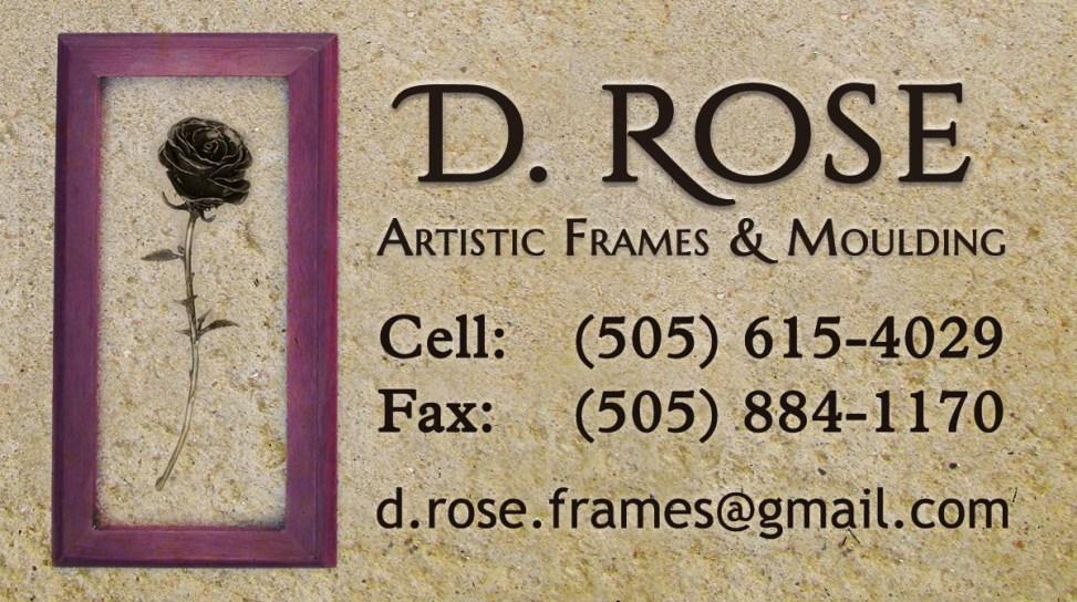 D. Rose Custom Business Card Design Isa Stewart