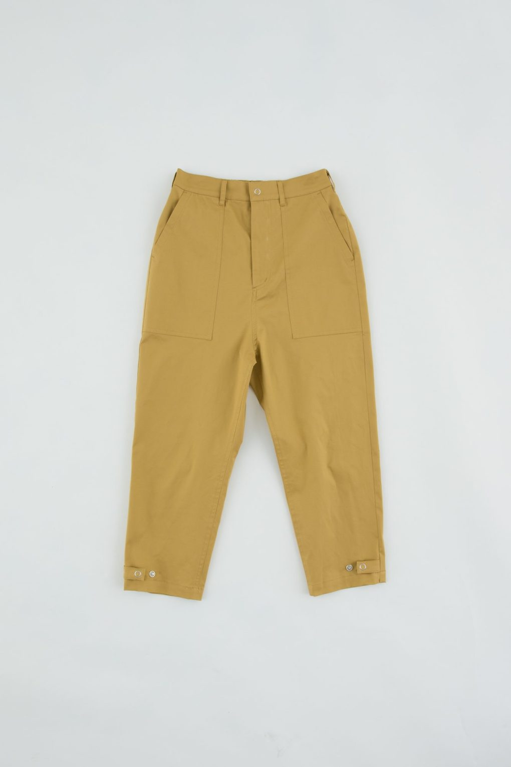 Bakers pants with waist elastic