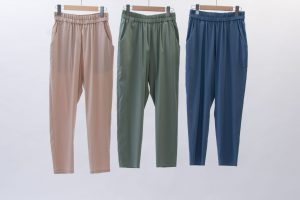 Relax tapered pants