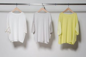 COOLFEEL switch relaxation Silhouette pullover