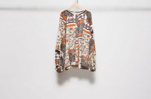 Original print blouse