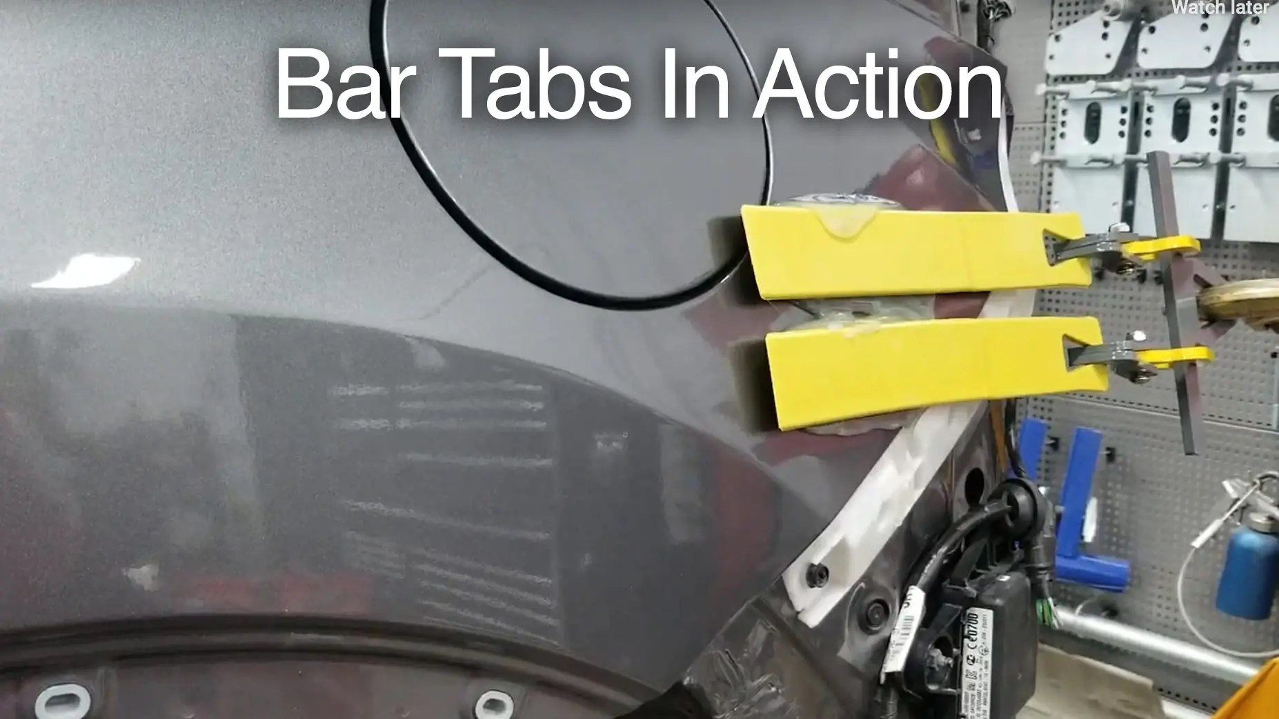 Bar Tabs Video