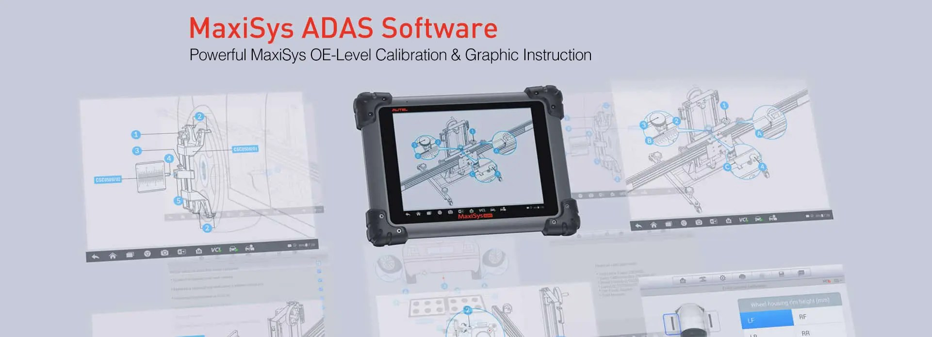 MaxiSys ADAS Software