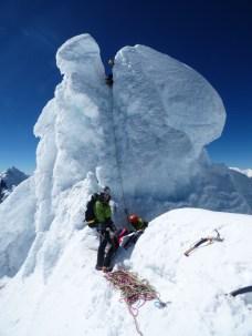 Cumbre del Alpamayo