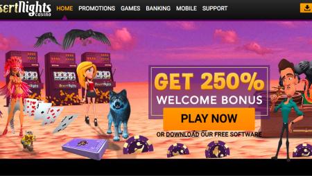Is Desert Nights Casino Legit or Scam? – Review |  Sister Sites Casinos