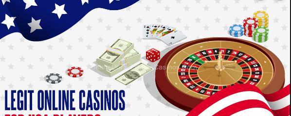 Legit Online Casinos