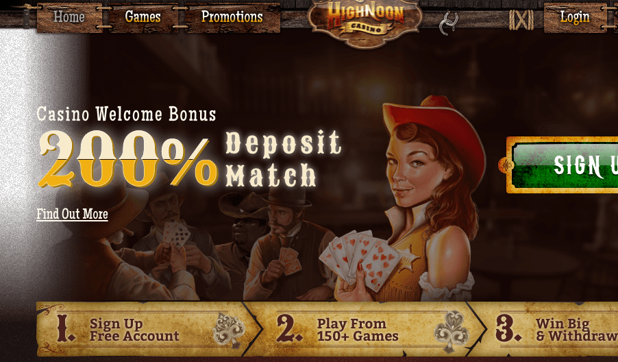 High Noon Casino Review:  Legit or Scam? | Sister Sites Casinos