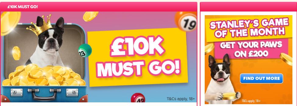 Give Back Bingo $10k Must Go