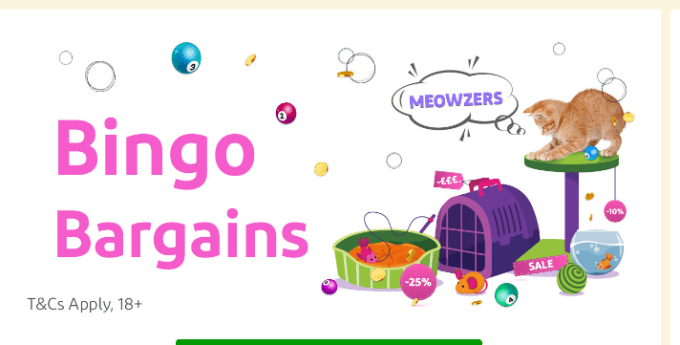Bingo Bargains