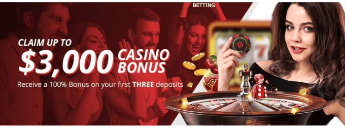 BetOnline.ag Casino Welcome Bonus