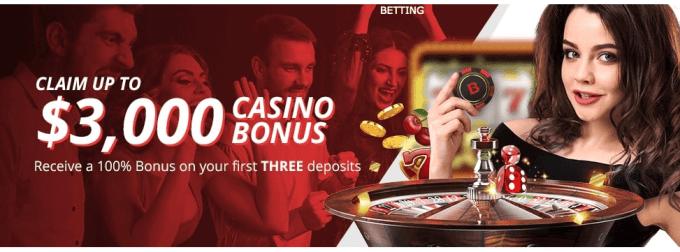 BetOnline.ag Casino Welcome Bonus