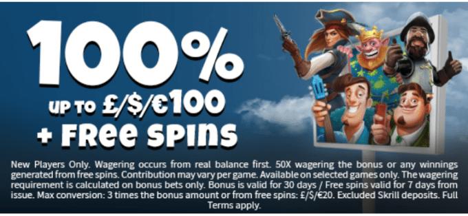 Fruity King Casino Bonus