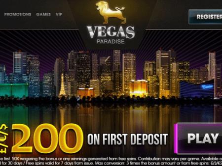 Is Vegas Paradise Casino Legit or Scam? – Review | Sister Casinos (2020)