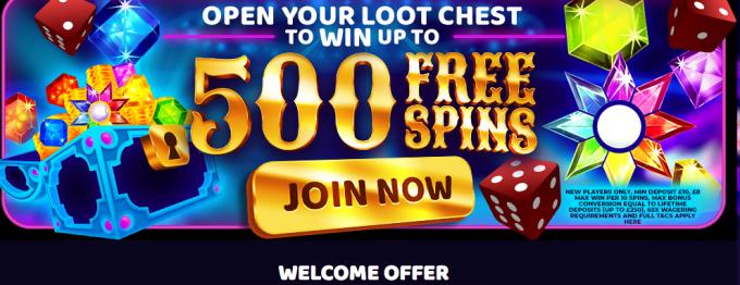 Cash Arcade Casino Welcome Bonus