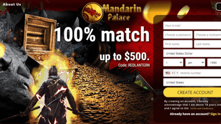 Is Mandarin Palace Casino Legit or Scam? – Review | Sister Sites (2020)
