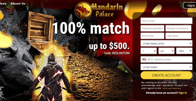 Is Mandarin Palace Casino Legit