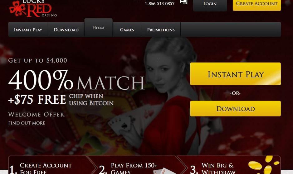 Is Lucky Red Casino Legit or Scam? – Review | Sister Casinos