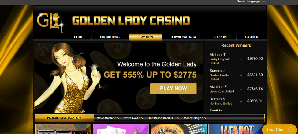 Golden Lady Casino Review: Legit or a Scam? | Golden Lady Sister Sites