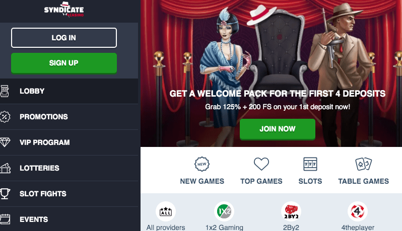 Syndicate Casino Review: Legit or a Scam?   Sister Sites