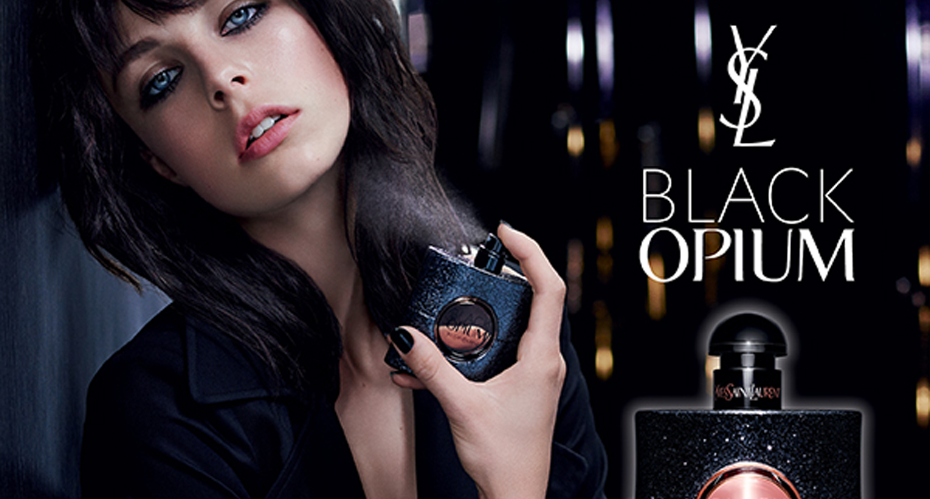 Black Opium Perfume Review - Black opium ad it s a sad state of affairs that perfumes today are generally launched at the 17 27 year old market which would explain a lot