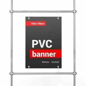 banner pvc 100x148 cm