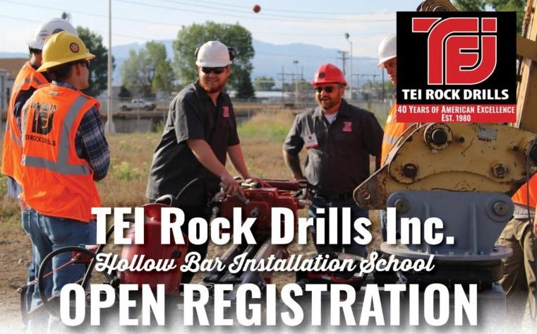 TEI Rock Drill's Hollow Bar School