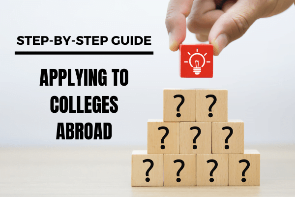 Applying to universities abroad