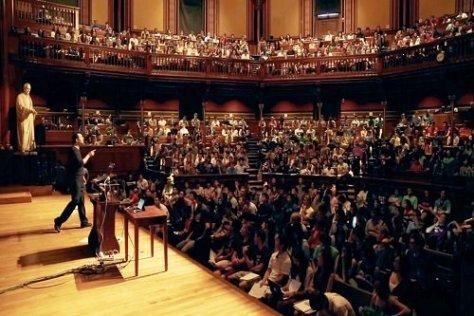 Studying at Harvard university