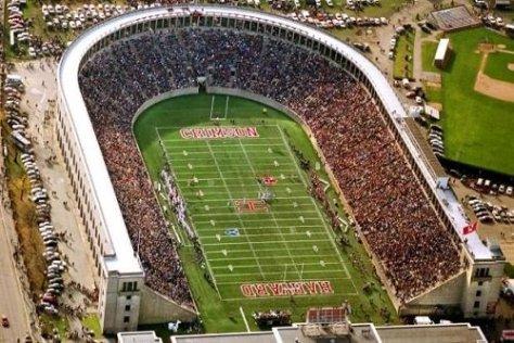 Harvard university football stadium