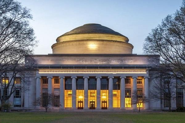 The grand campus of MIT university