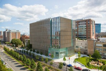 boston university campus famous for higher education for international students
