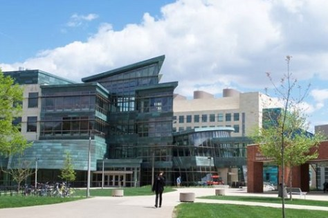 University of Iowa doesn't require GRE for few courses.
