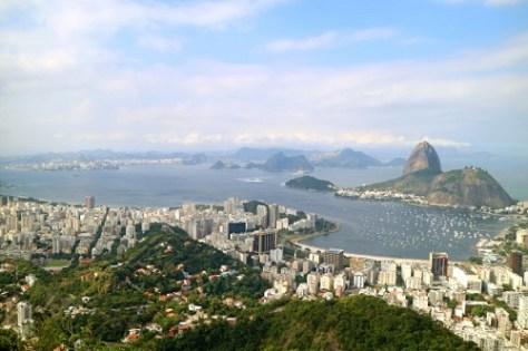 View of Rio de Janerio