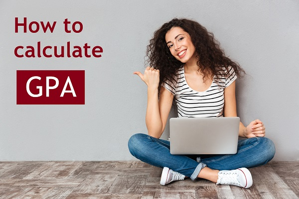 Girl telling us how to calculate GPA