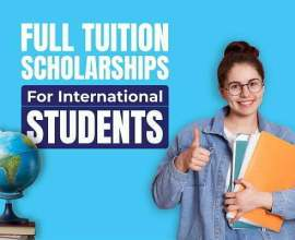 Full Tuition Scholarships for international students