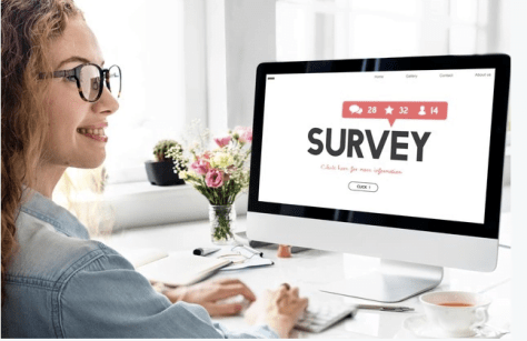 best online jobs for students - online surveys