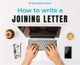 How to write a Joining letter