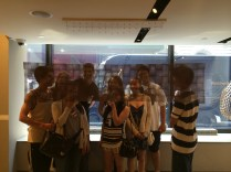 2014 Critical Thinking in Math class goes to the Museum of Math!