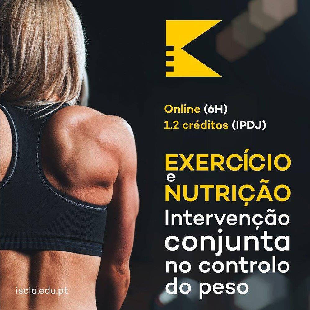 evento iscia exercicio e nutricao squared