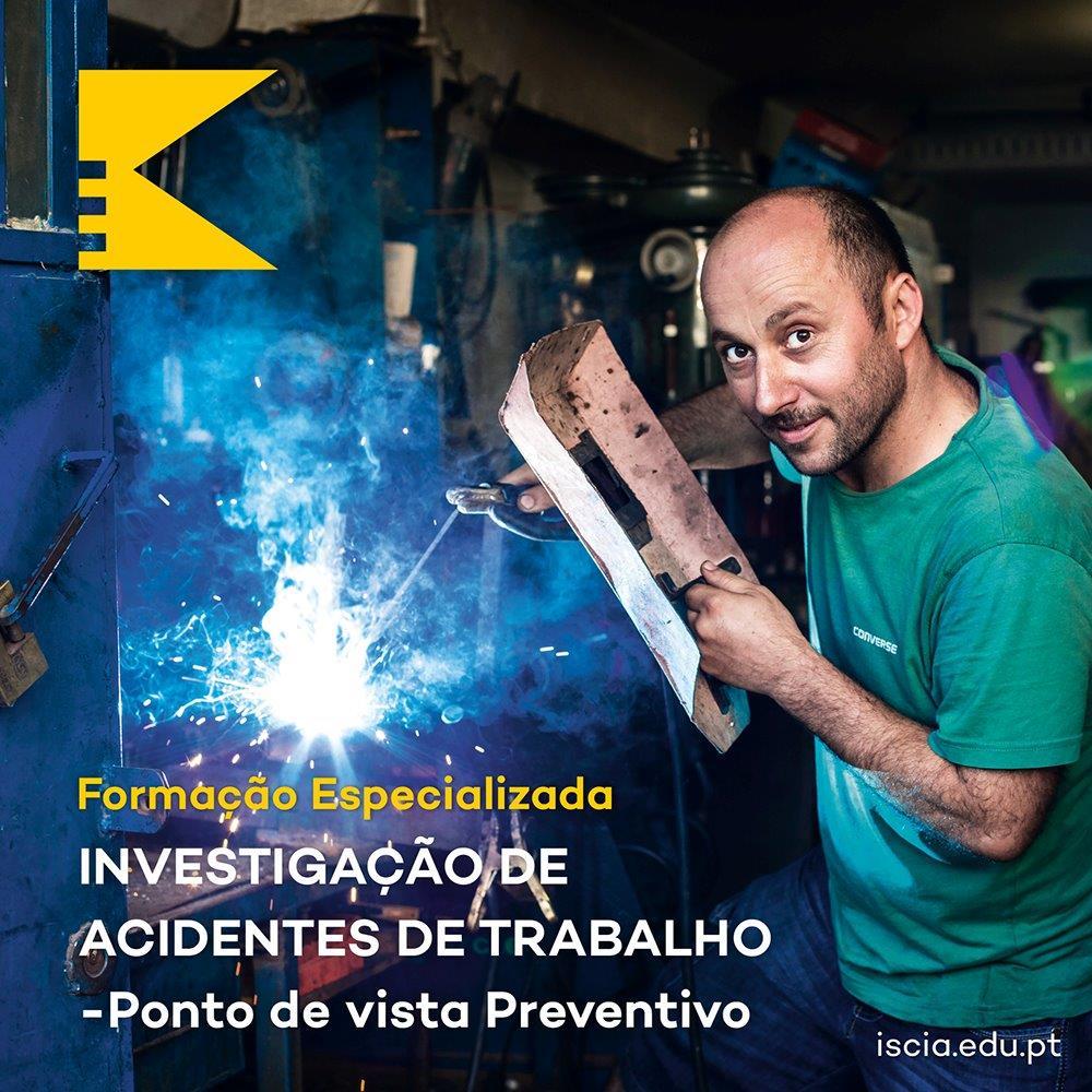 iscia formação especializada investigação de acidentes de trabalho