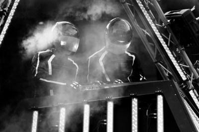 Daft Punk - masked electro-bandits