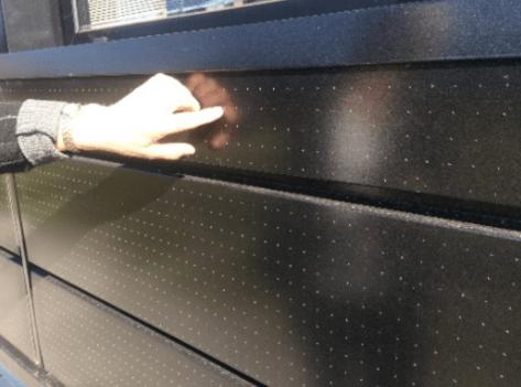solar panel on wall