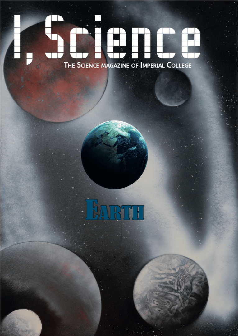 I,Science Magazine cover- earth