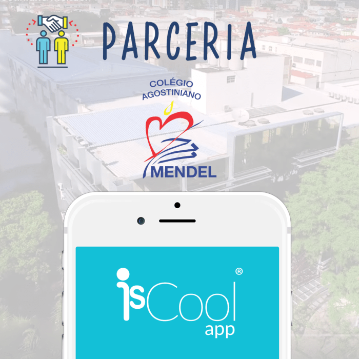 IsCool App e Colégio Agostiniano Mendel.png