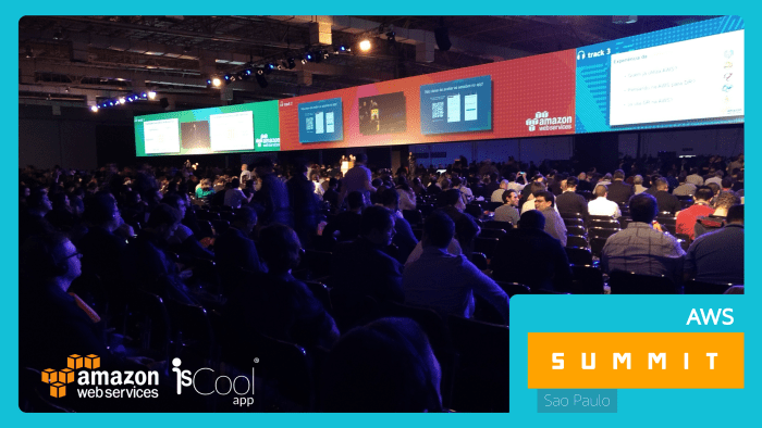 IsCool App_app escolar_AWS Summit 2017_Amazon.png