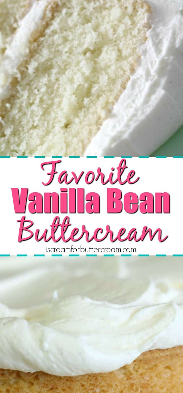 Vanilla Bean Buttercream - I Scream for Buttercream